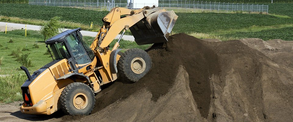 Topsoil and hardcore service