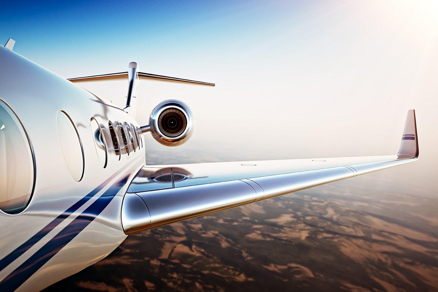 Aereo Privato Lusso : Illustrazione di vettore aereo privato aerei di lusso icona set