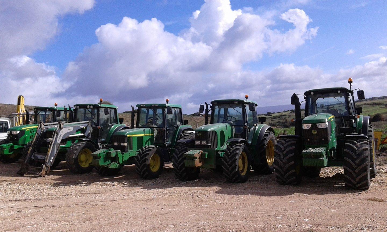 Trattori agricoli in Sardegna