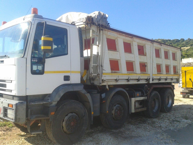 Camion per il trasporto in Sardegna