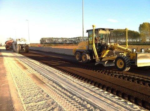 scavi per realizzazione strada