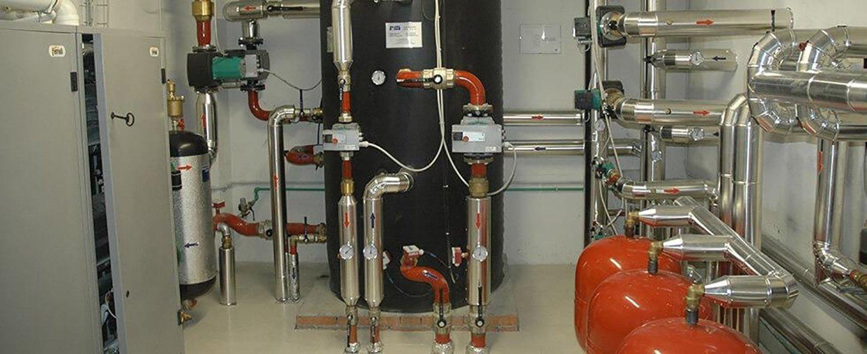 motori e cisterne impianto riscaldamento