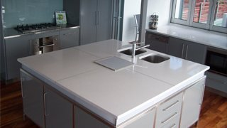 Granite kitchen benches in any size