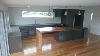 Granite kitchen benches