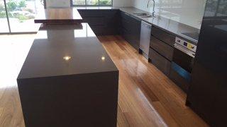 Granite kitchen bench