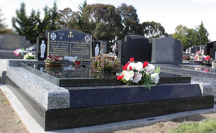Headstone done by our stonemasons in Tasmania