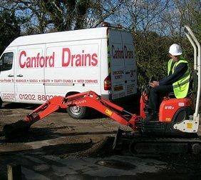 Engineers repairing water mains