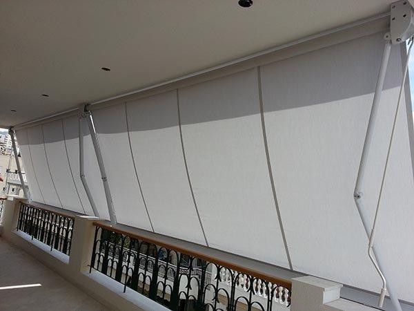 tende solari per terrazzo ristorante