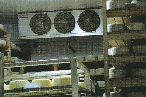 Armadi per asciugatura e stagionatura formaggi.