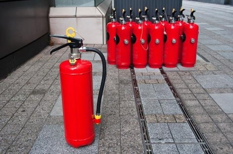 Testing of fire protection equipment