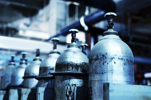 Bombole di gas per navi
