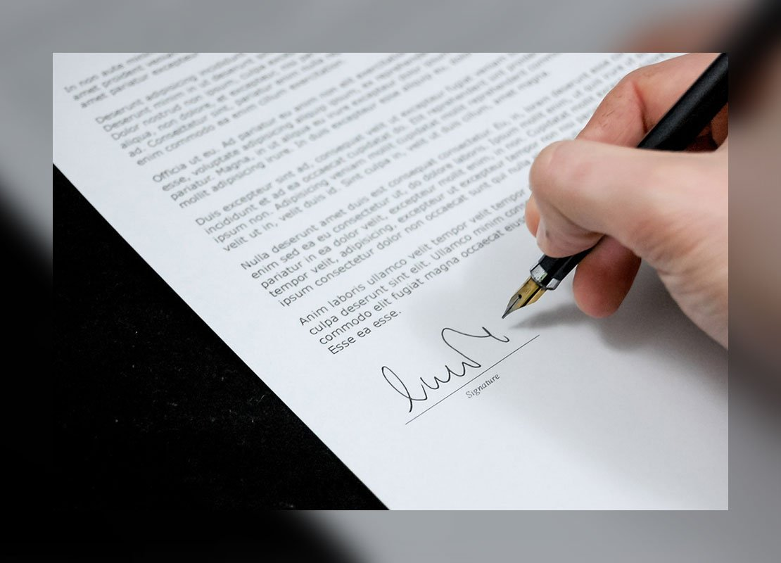 signed documents