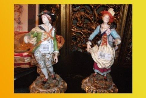 statuette di antiquariato