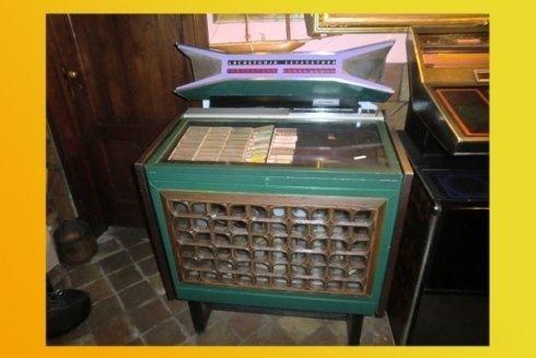 Jukebox antiquariato da collezione vintage