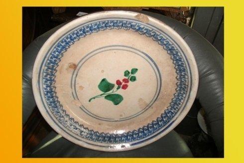 piatto da collezione antico