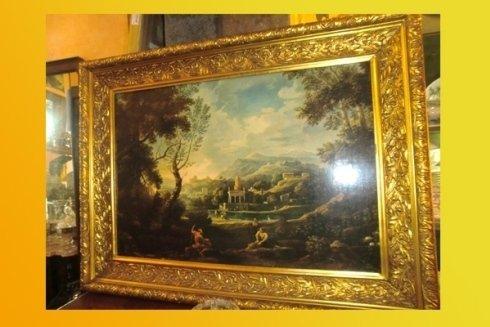 dipinto restaurato antico