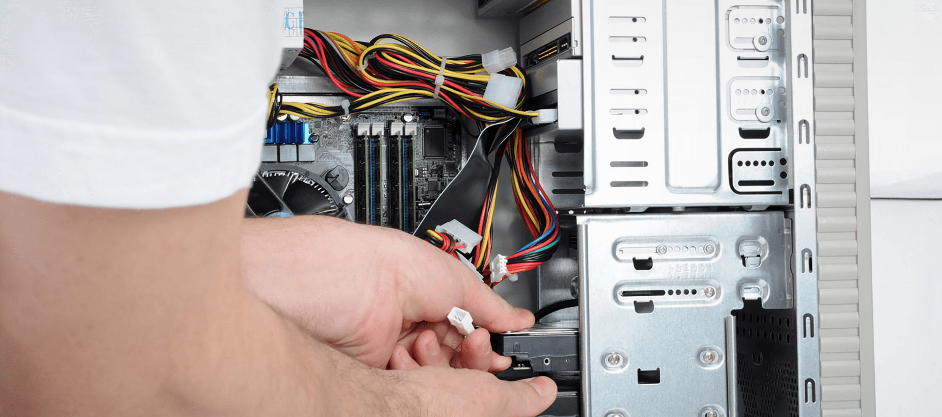 Installing the disk drive