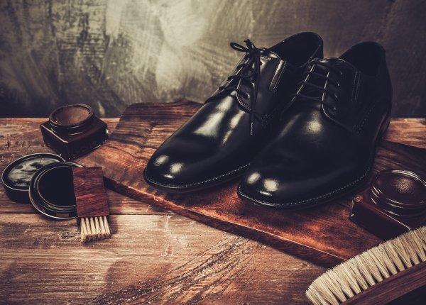 Scarpe in pelle da uomo