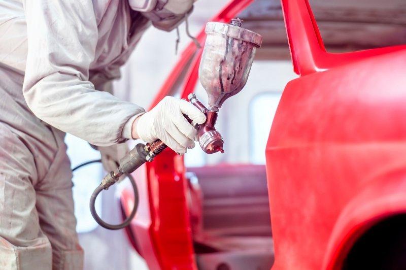 auto paint refinishing Fairfield, CT