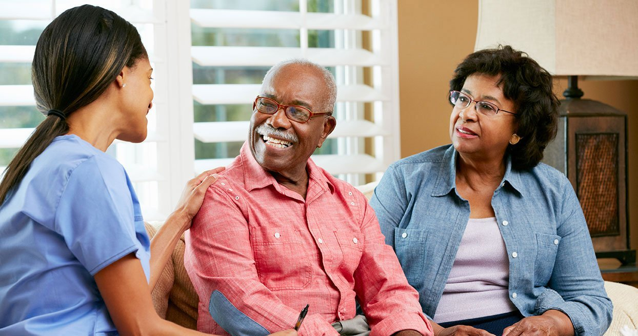 Home care; live in the comfort of your own home