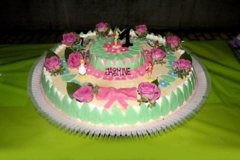 dessert con decorazioni