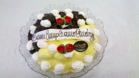 torta con dedica
