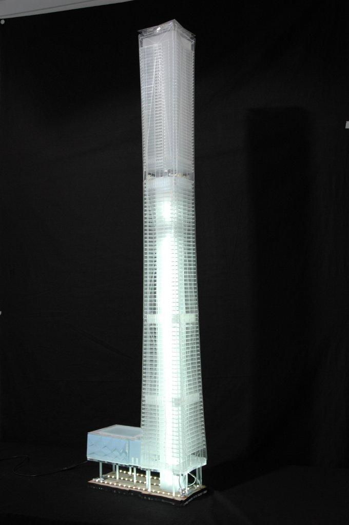 Architectural Model tower willkinson eyre architects