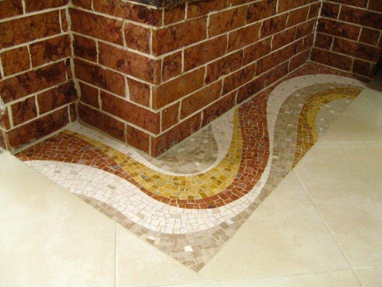 Gres porcellanato cagliari anstiles - Doccia a pavimento mosaico ...