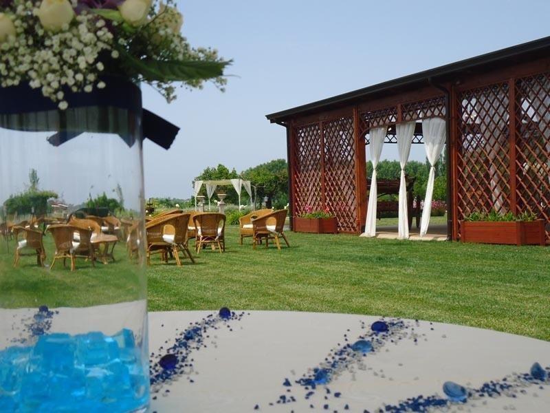 catering in villa con piscina