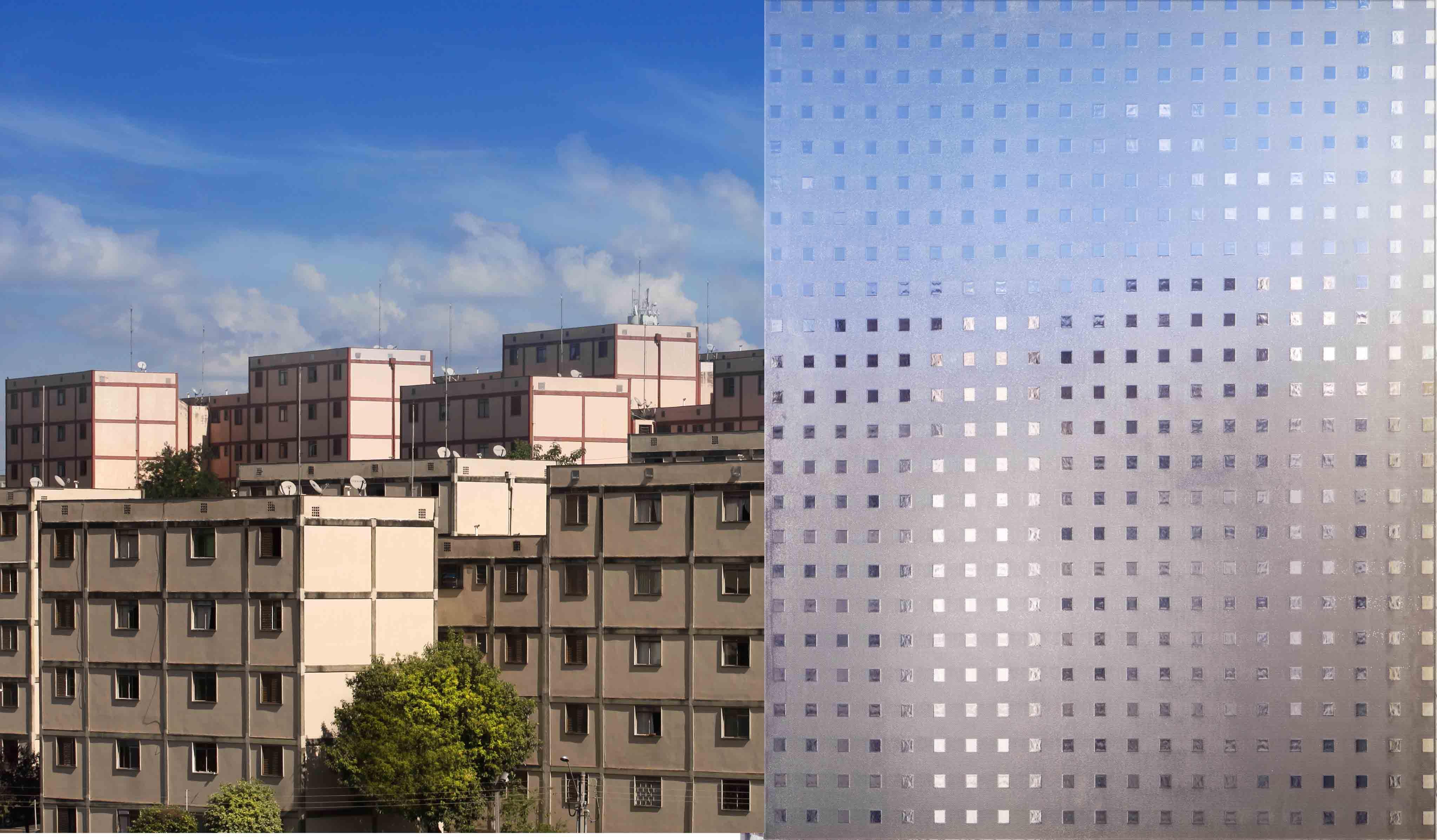 vidro Quadrato UBV