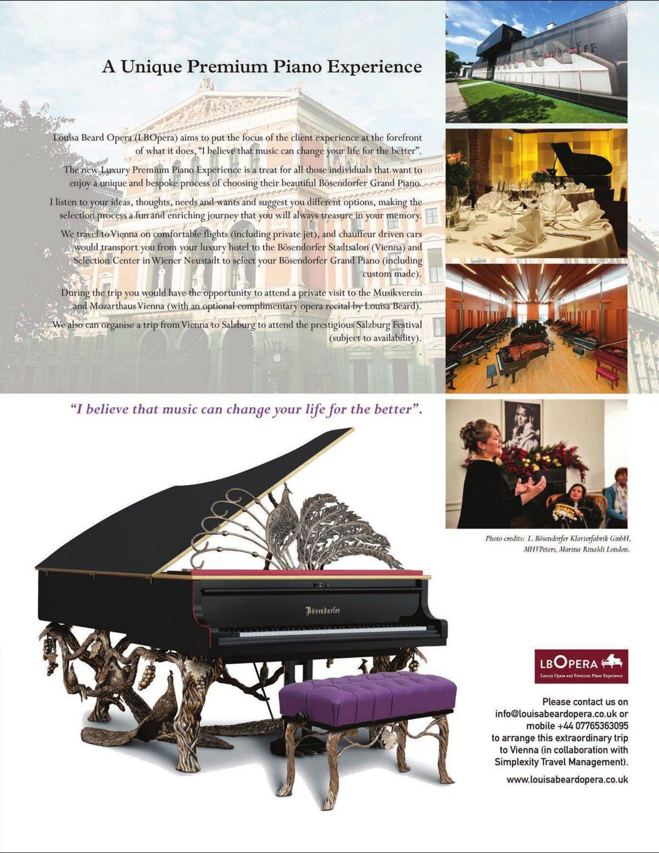 Piano Selection Trips to Vienna | LB Opera