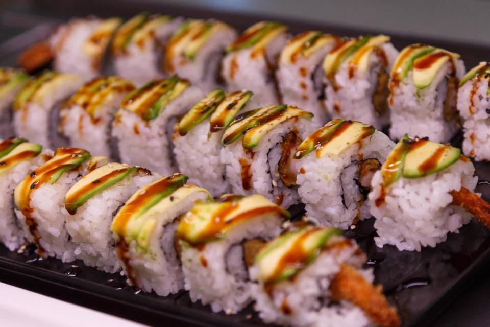 sushi ai gamberi
