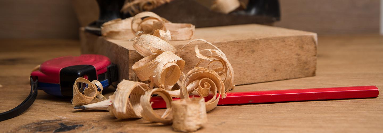 trucioli in legno