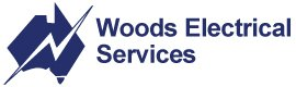 woods electrical services logo