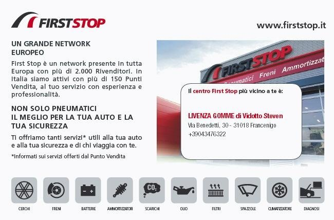 FIRSTSTOP LIVENZA GOMME
