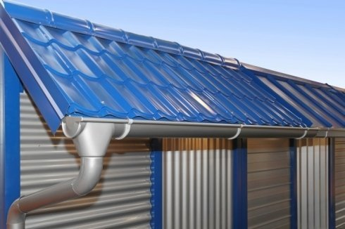 Copertura in metallo per tetto e facciata