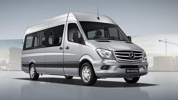 Luxury minibus - Mercedes Sprinter