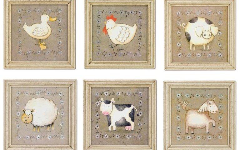 Vendita quadri per la camera dei bambini