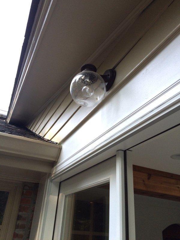 Outdoor Lighting Installation