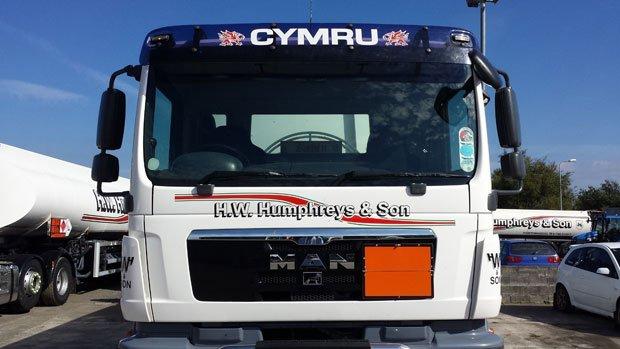 H W Humphreys vehicle