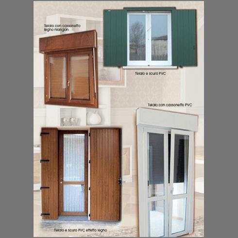 finestre di legno, finestre di legno-alluminio, finestre di pvc
