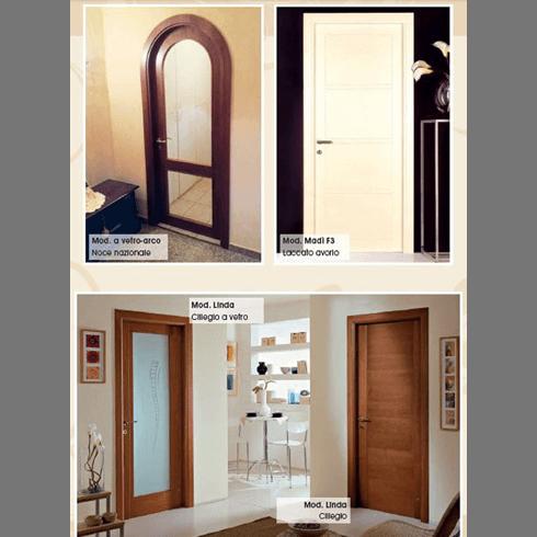 porta in legno sbiancato, porte in massello, serramenti