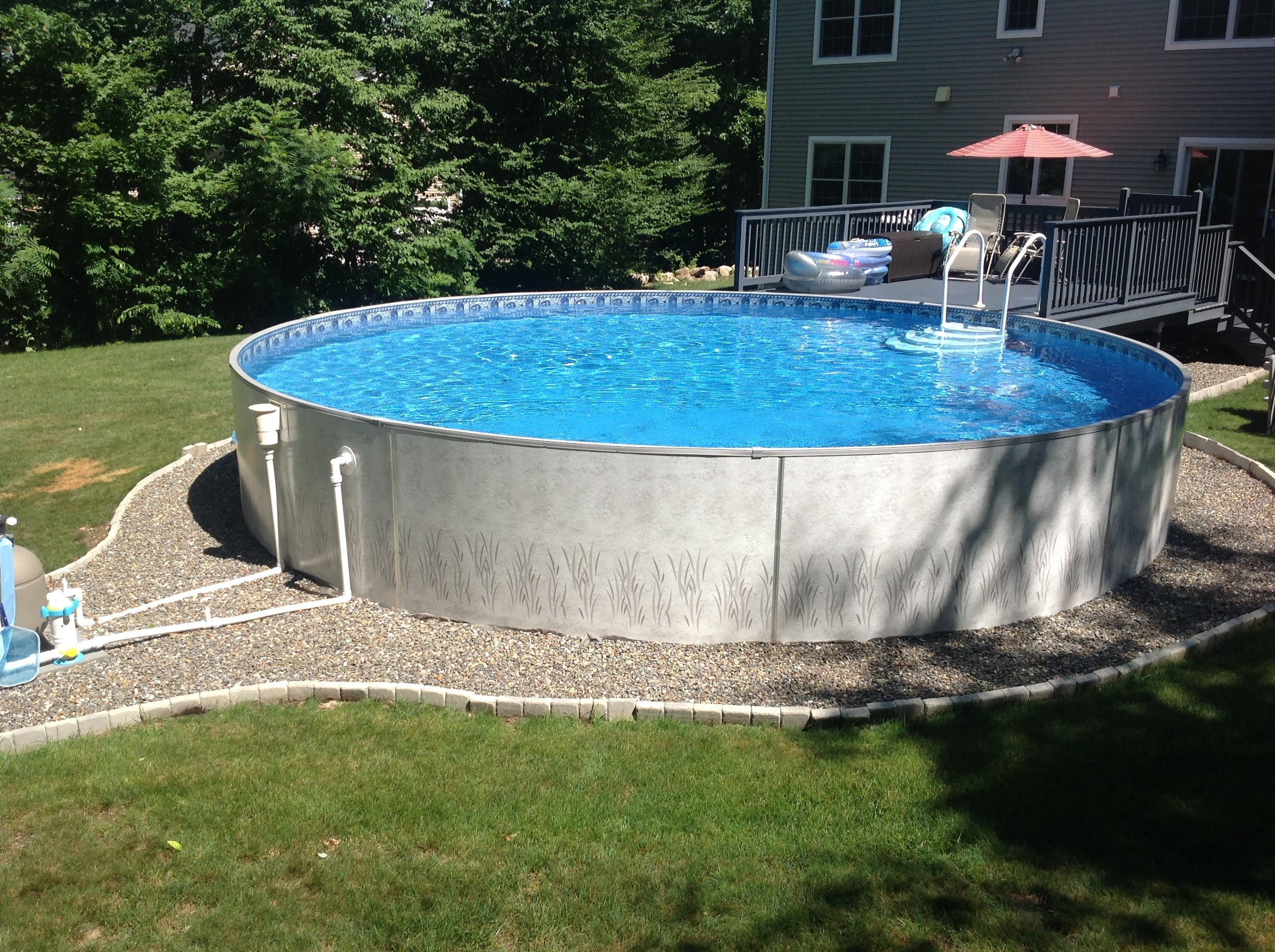 Above ground pools sabrina pools coventry ct for Round swimming pools above ground