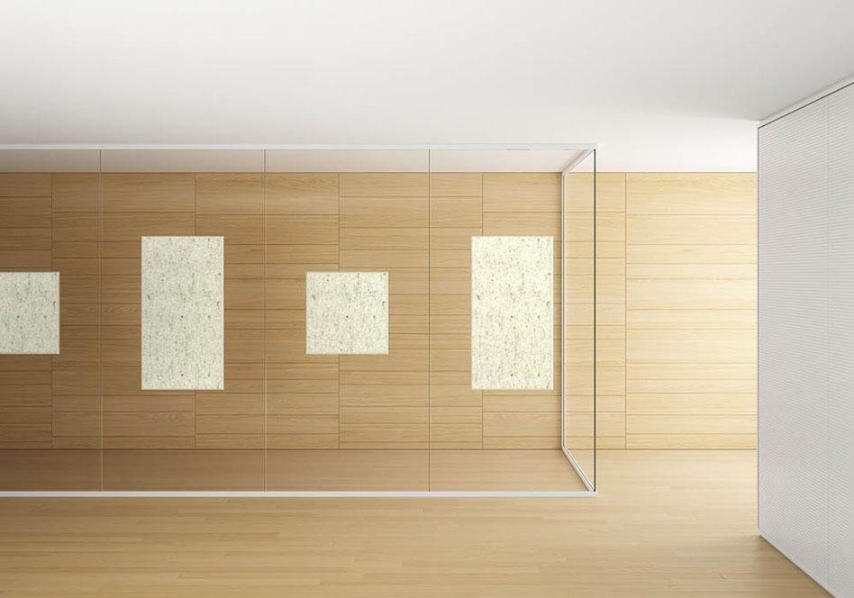 pareti divisorie e pannelli