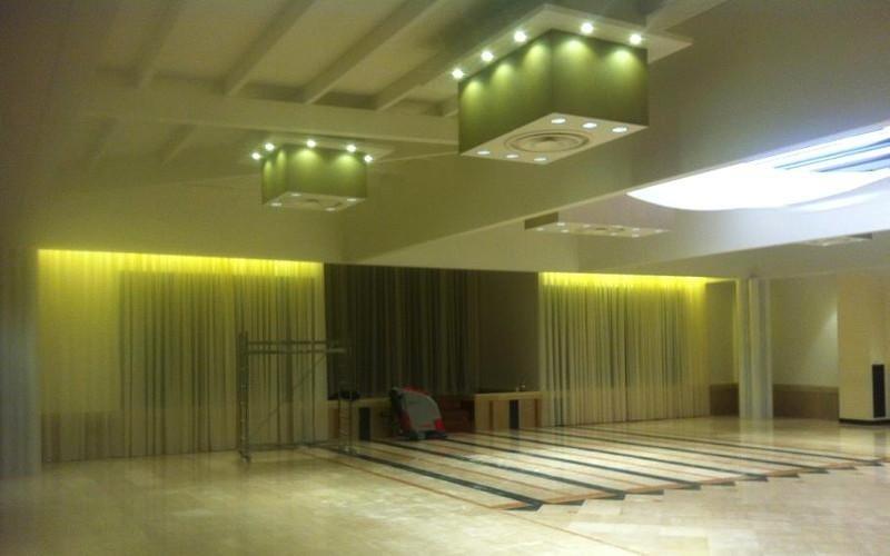 illuminazione sala matrimoni