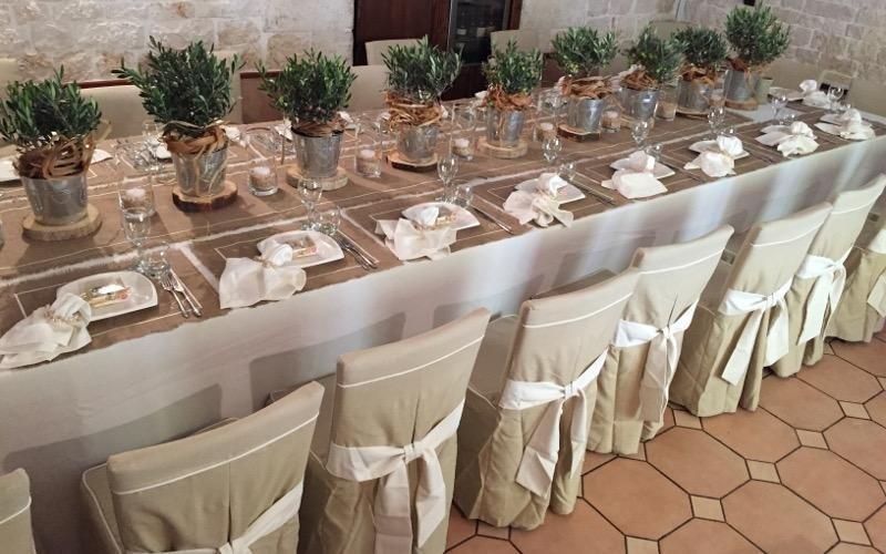 come preparare sala matrimoni