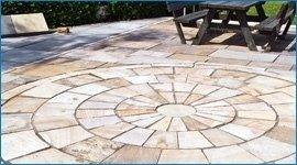 pulizia piastrelle in pietra