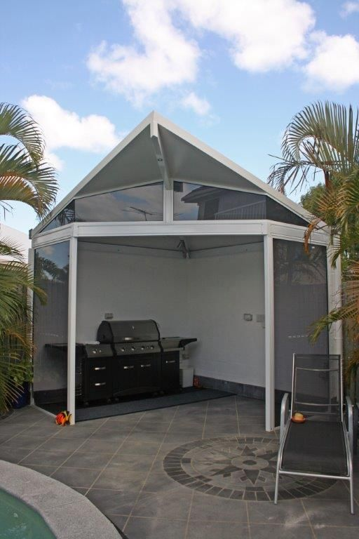 Patio repaired after hail damage on the Sunshine Coast