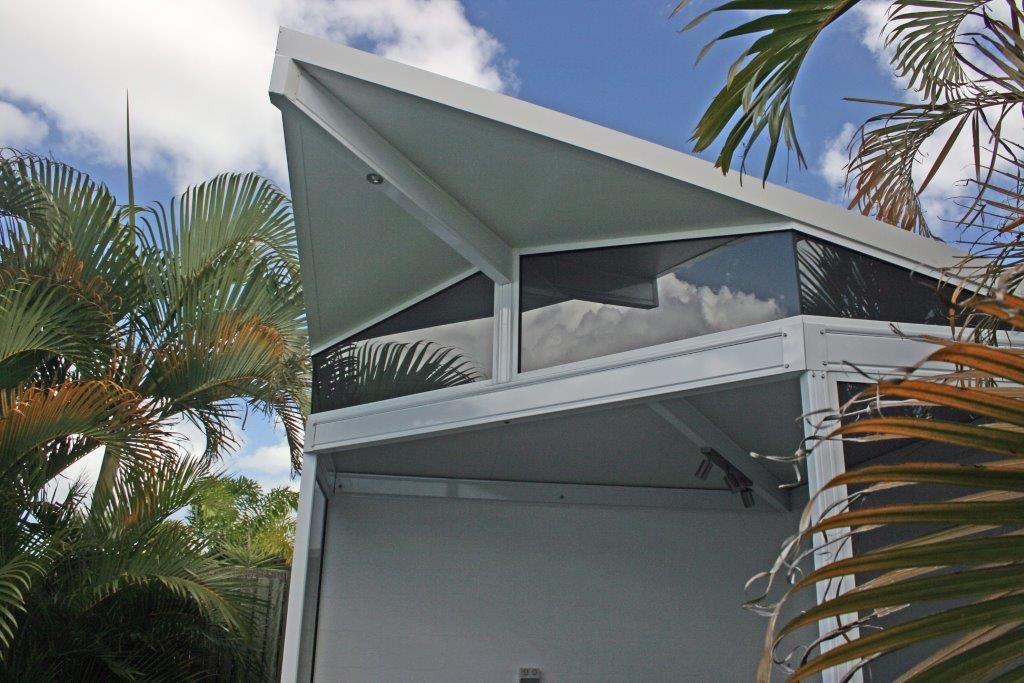 top windows of roofing