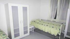 camere singole, camere doppie, presidio medico